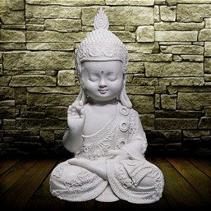 Buda Nino Meditador Marmorite