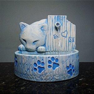 Fonte Gato Azul