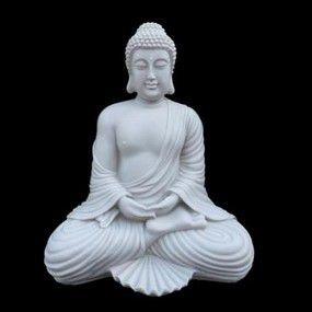 Escultura Buda Robust Marmorite 42 cm