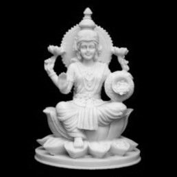 Estatueta Lakshmi Marmorite
