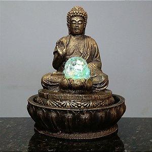 Fonte Buda Meditação Old Gold