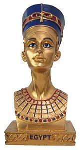 Escultura Busto Faraó Nefertiti