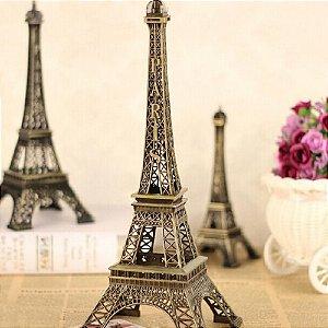 Trio Enfeite Torre Eiffel Paris Escultura Decorativa