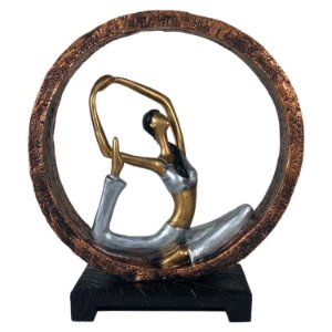 Estatueta Yoga Kapotasana