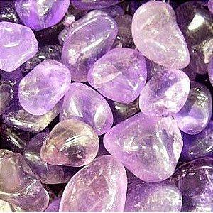 Pedra Rolada Ametista Pacote 1 KG