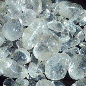 Pedra Rolada Quartzo 1 KG