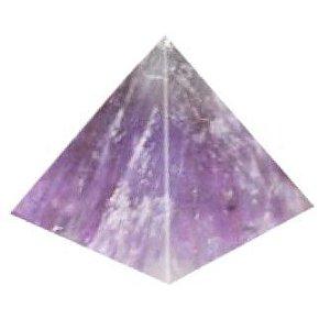 Pirâmide De Pedra Natural Ametista 4x3 cm