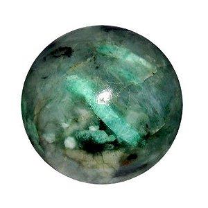 Esfera de Pedra Natural Esmeralda Verde | 9 Cm - 1000 G