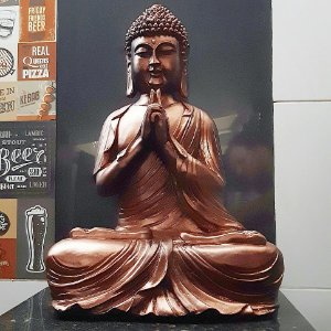 Big Buda Kali Mudra Copper