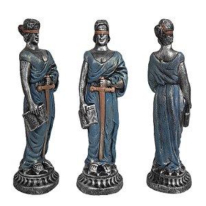 Estátua da Justiça Themis Exclusive 30 Cm