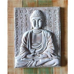 Quadro Buda Dhyana Mudra 30x24 cm