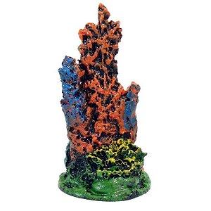 Enfeite de Aquário Mini Coral