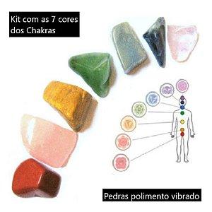Kit 7 Pedras dos Chakras