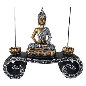 Incensário Aparador Buda