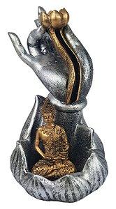 Incensário Cascata Buda Hand