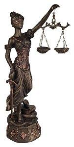 Estátua da Justiça Themis 45 Cm