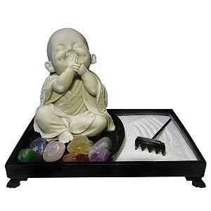 Jardim Zen Buda Nino Iwazaru 言わ ざる Marmorite