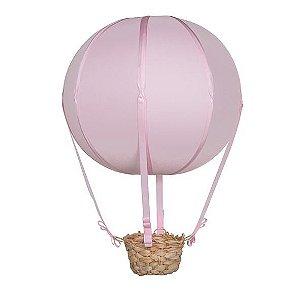 Lustre de Balão Vintage Rosa