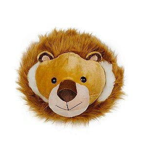 Cabeça Decorativa Leão