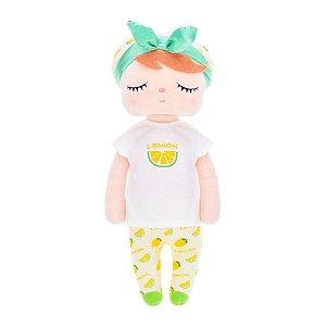 Boneca Angela Fruta Limão 33cm - Metoo
