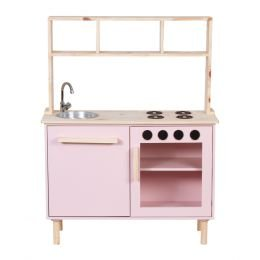 Mini Cozinha Rosa Claro