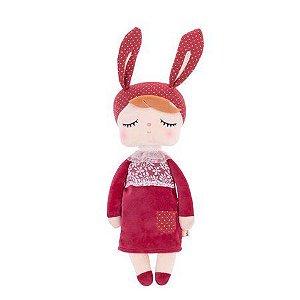 Boneca Angela Bordô 33 cm - Metoo