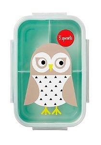 Bento Box Coruja - 3 Sprouts (Porta lanche e Comida)