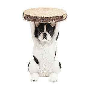 Mesa Dog Boston Terrier Resina
