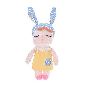 Mini Doll Angela Clássica Amarela 20cm - Metoo