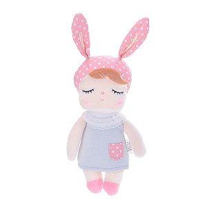 Mini Doll Angela Clássica Cinza 20cm - Metoo