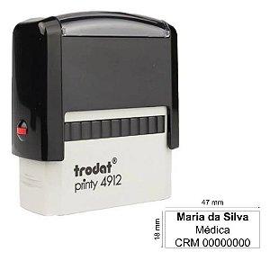 Carimbo Trodat 4912 (modelo P2) personalizado