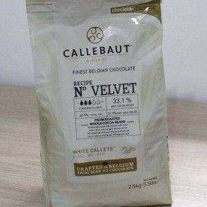 Chocolate branco Velvet 2,5kg