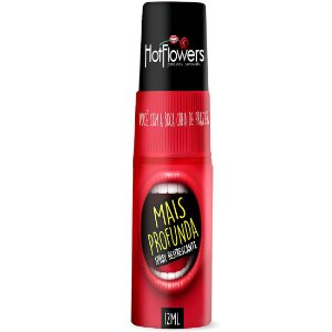 MAIS PROFUNDA SPRAY PARA SEXO ORAL HOT FLOWERS