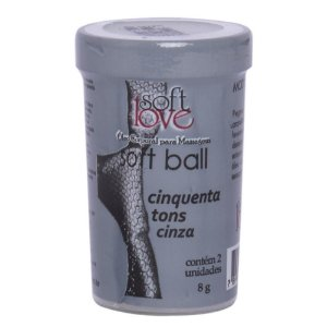 BOLINHA 50 TONS DE CINZA SOFT LOVE