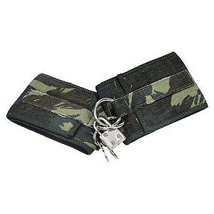 Algemas eróticas estilo militar camuflada - PRESUTTI