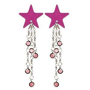 Kit com 2 piercings de estrelas - BODY CHARMS STAR