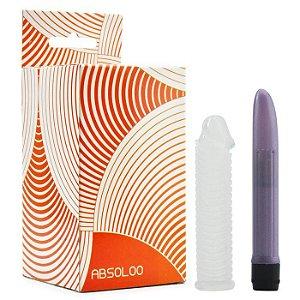 Dilatador Vaginal Vibratório - Scaled Sleeve Vibe - Absoloo