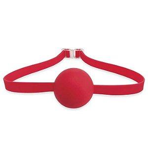Mordaça em forma de bola com máscara -  PIPEDREAM