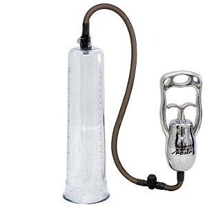 Desenvolvedor peniano manual com tubo extra grande - NANMA