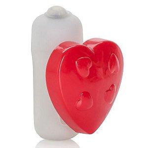 Estimulador clitoriano coração - CALIFORNIA EXOTIC