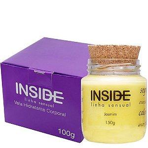 Vela Hidratante Aroma Jasmim - Inside Cosméticos
