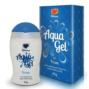 Gel Lubrificante Beijável Aroma Menta - Aqua Gel