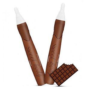Caneta Erótica Comestível Sabor Chocolate - Sweet Body