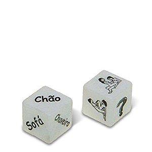 Dados Lugar e Posição Cubos do Amor - Diversão ao Cubo