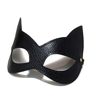 Máscara Kitten em Couro Sintético Phyton - Secret Play