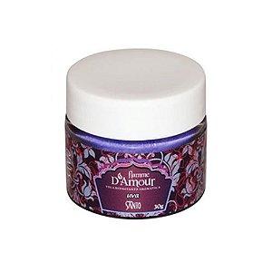 Vela aromática beijável de uva - FLAMME D AMOUR - SANTO COSMÉTICOS