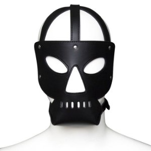 Máscara Capuz com Mordaça - Hannibal Mask