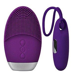 Vibrador Recarregável  Controle Remoto 7 Vibrações Rosa