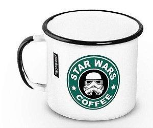 Caneca Esmaltada Star Wars 360ml