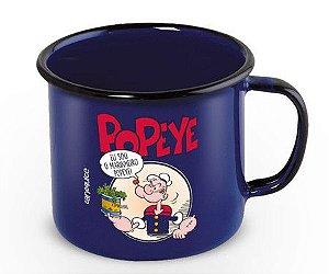 Caneca Esmaltada Popeye 360ml